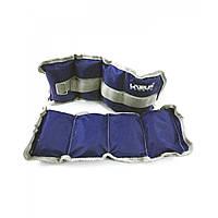 Утяжелители-манжеты для рук и ног LiveUp WRIST/ANKLE WEIGHT (2шт х1 кг)