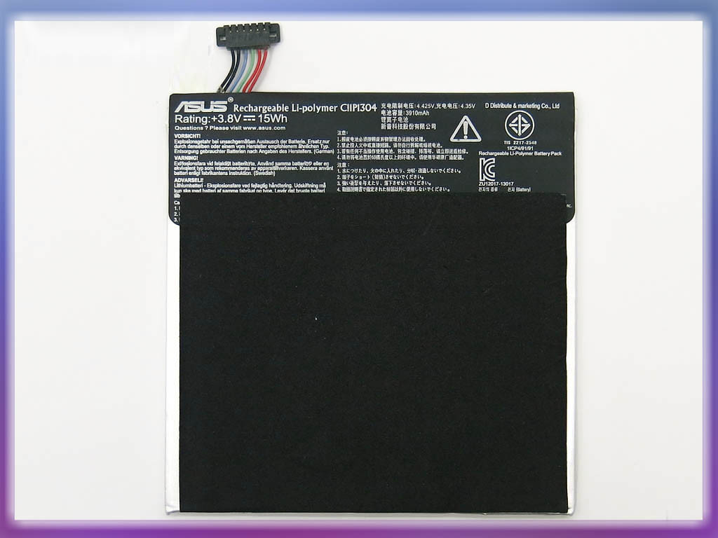 Аккумулятор для планшета ASUS C11P1304 Memo Pad ME173X Tablet PC (3.8V