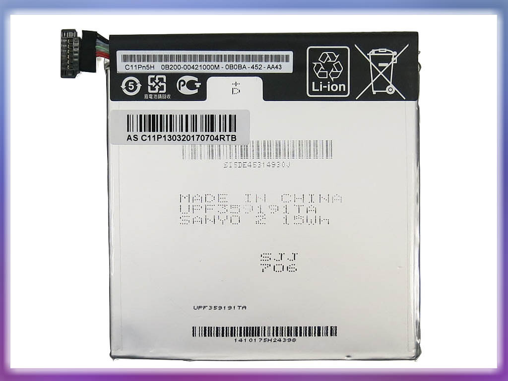 Аккмулятор ASUS (C11P1303) Memo Pad ME571K (3.8V 15Wh). 2