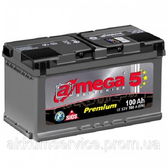 Аккумулятор автомобильный A-Mega Premium M5 100AH R+ 950A