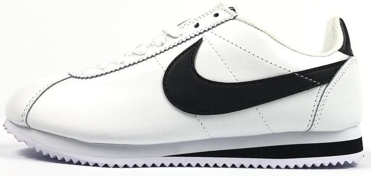 37eaec45efc Женские кроссовки Nike Cortez Basic Leather White (Найк Кортез, белые) -  Магазин обуви