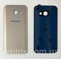 Задняя крышка для Samsung A520F Galaxy A5 (2017), золотистая, оригинал