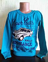 Джемпер, кофта  для мальчика Машина   с пайетками перевертышами  лет, фото 1