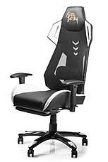Геймерское кресло игровое Barsky BGM-09 черное с белым, фото 3