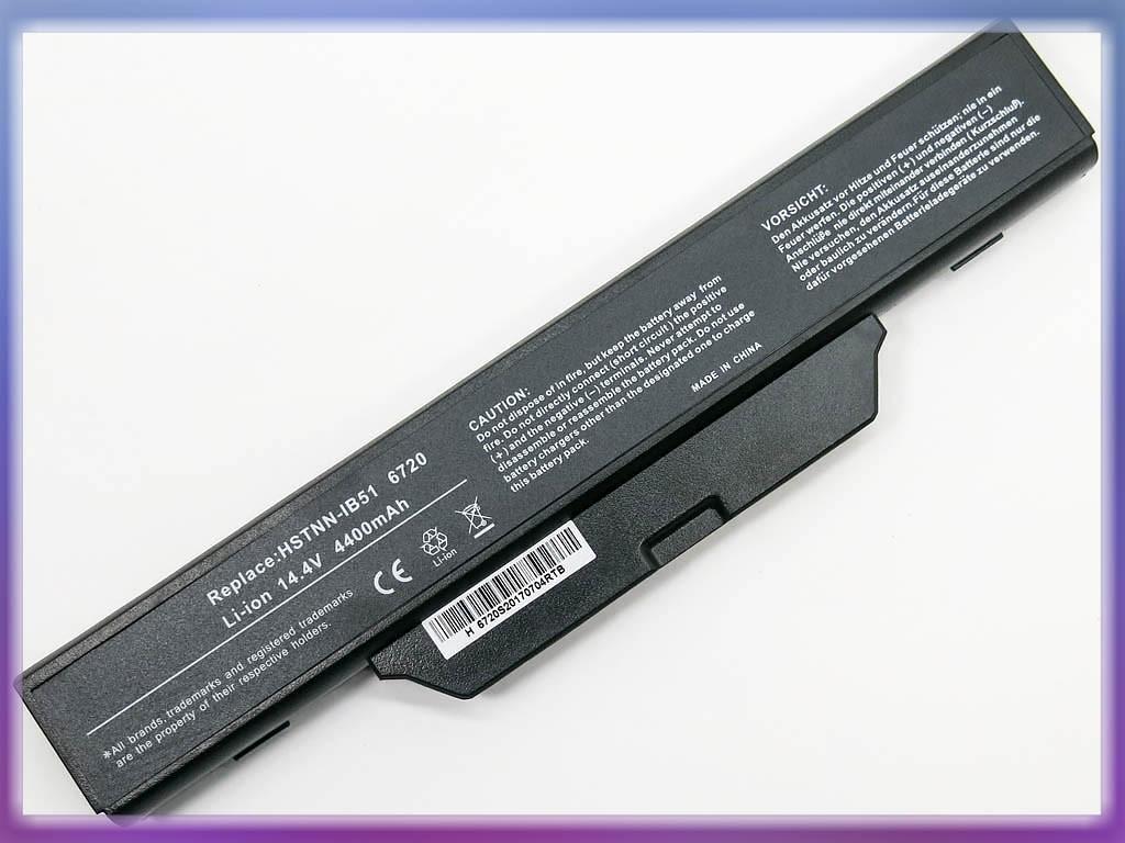 Батарея HP Compaq 6720s (14.8V 4400Wh Black ).