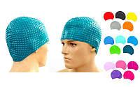 Шапочка для плавания на длинные волосы LEGEND PL-5967 Bable (силикон 78гр, цвета в ассортименте)
