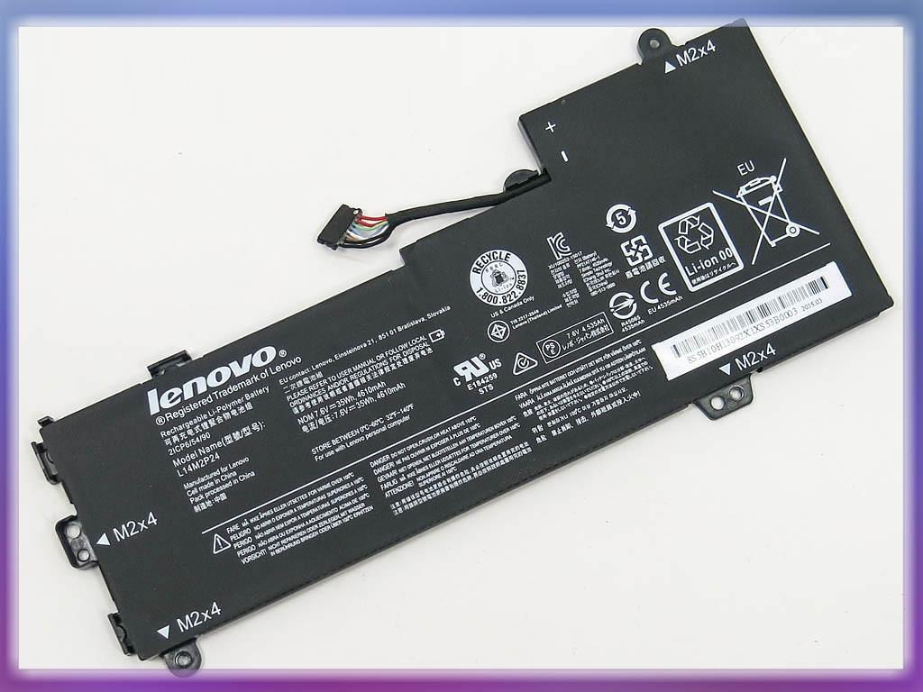 Аккумулятор Lenovo L14M2P23 U30 Series (7.4V 4050mAh 30Wh Black) ORIGI