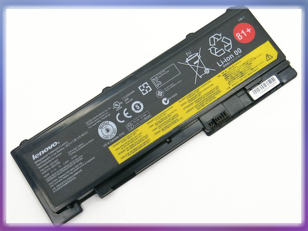 Батарея Lenovo 42T4847 ThinkPad T420si (11.1V 3900mAh Black) ORIGINAL