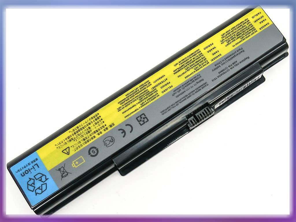 Аккумулятор Lenovo 121TL070A Ideapad Y710 (11.1V 4400mAh Black) ORIGIN