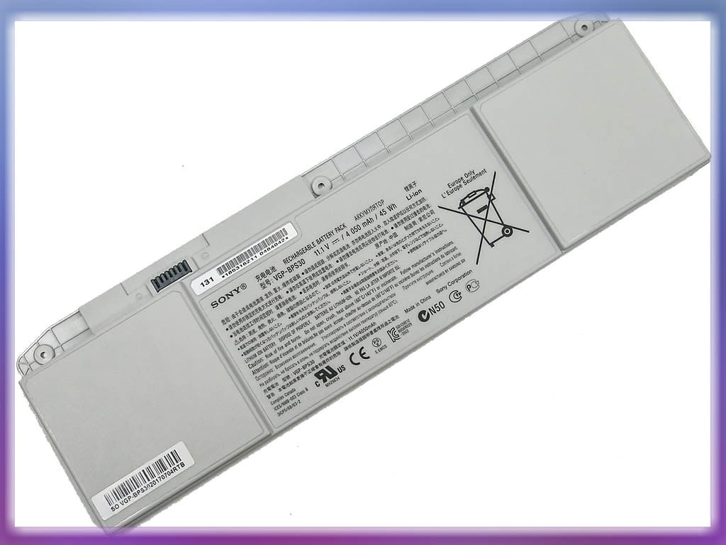 Батарея SONY VAIO T11, T13, SVT11, SVT13, VGP-BPS30A (BPS30) (11.1V 40
