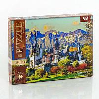 Пазлы 1500 ел. 1500-02-07  Рeles castle  Danko Toys