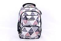 """Подростковый школьный рюкзак """"Baohua 7617"""" Белый, фото 1"""