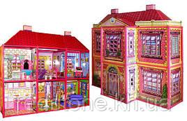 Ляльковий будинок 6983 2-х поверховий з меблями (6 кімнат)