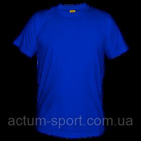 Футболка мужская хлопок синий