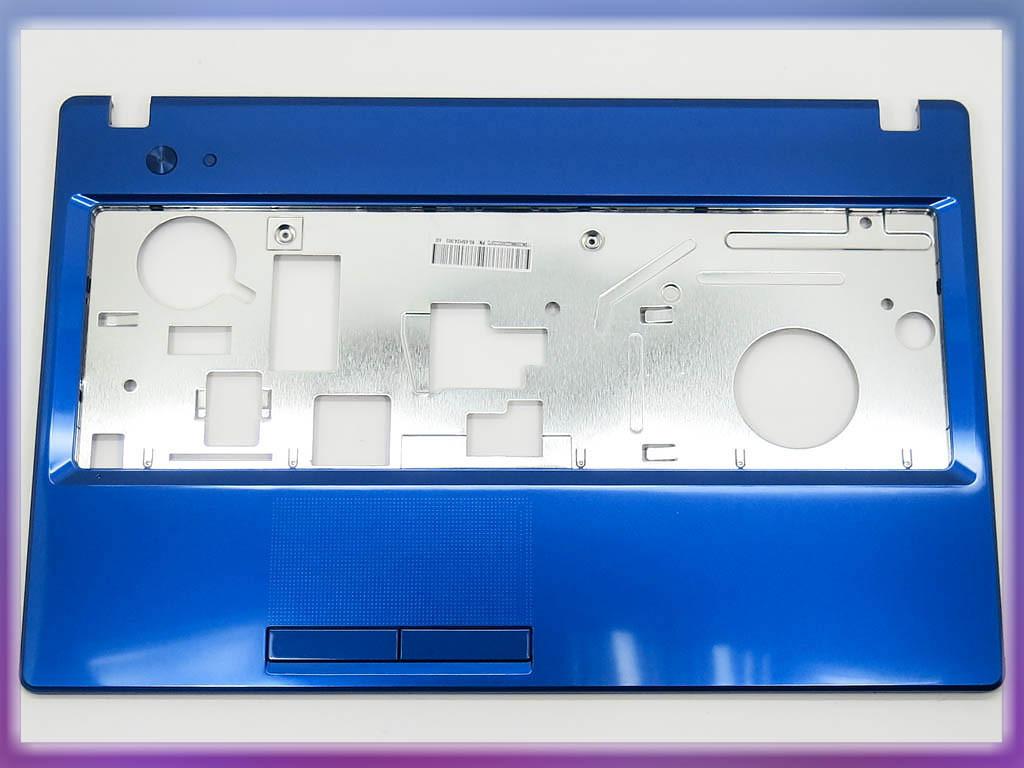 Корпус для ноутбука Lenovo G580, G585 (Версия 2) Blue Metalic. (Крышка