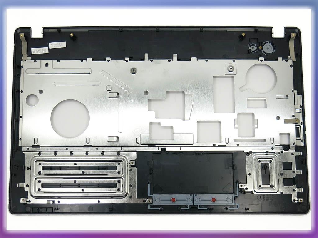 Корпус для ноутбука Lenovo G580, G585 (Версия 2) Blue Metalic. (Крышка 2