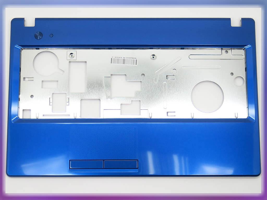 Корпус для ноутбука Lenovo G580, G585 (Версия 2) Blue Metalic. (Крышка 3