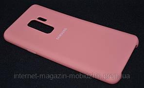 Чехол силиконовый Samsung G965/S9 Plus Pink Original