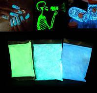 Светящийся порошок люминофор 100 гр. пакет, фото 1