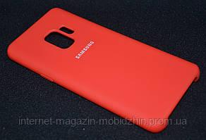 Чехол силиконовый Samsung G960/S9 Red Original