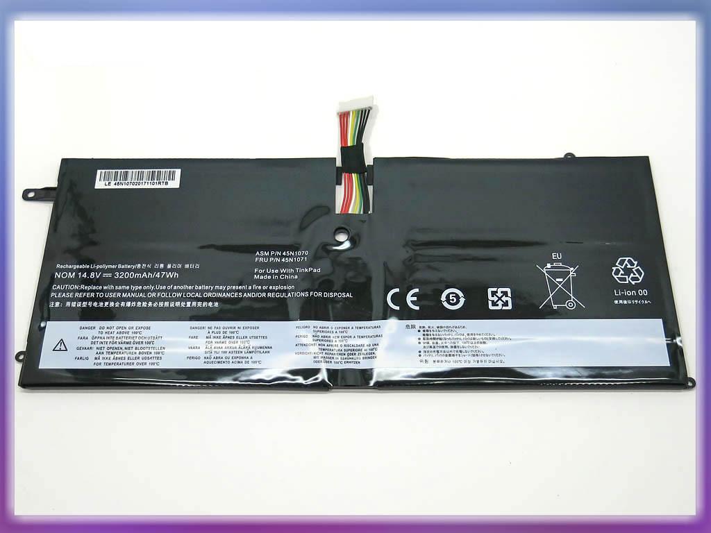 Батарея Lenovo ThinkPad X1 Carbon 3444, 3448, 3460, X1C (45N1070, 45N1