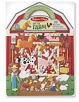 Объемные многоразовые наклееки Ферма Melissa&Doug (MD19408)