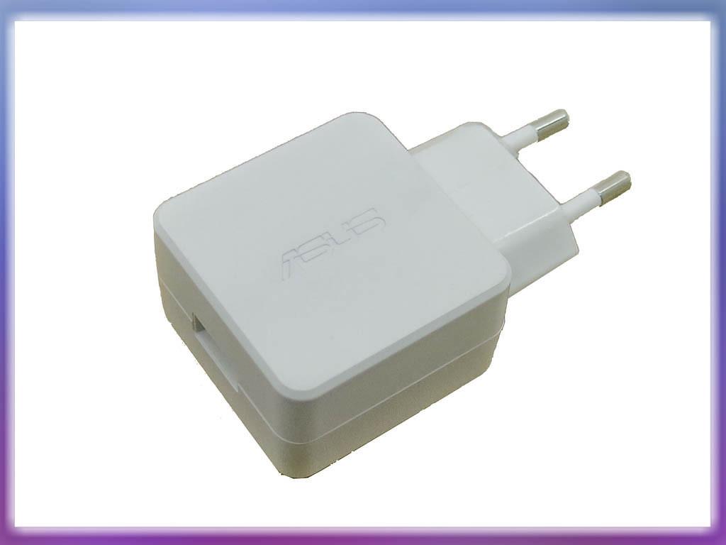 Блок питания для планшета ASUS 5V 2A 10W (USB гнездо) White. ORIGINAL.