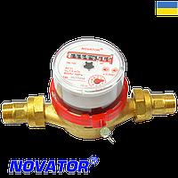 Счетчик горячей воды НОВАТОР ЛК-15Г-01