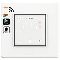 Регулятор для теплого пола Terneo sx unic с сенсорным управлением и WI-FI цвет -Белый , фото 1