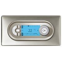 Термостат комнатный программируемый - диапазон регулировки t° от +7°C до +30°C - Программа Celiane