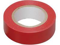 Изоляционная лента ПВХ RIGHT HAUSEN HN 05.1.01.6 красная (9м) Код.59335