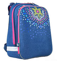 Рюкзак школьный каркасный Yes Shelby H-12 Mandala