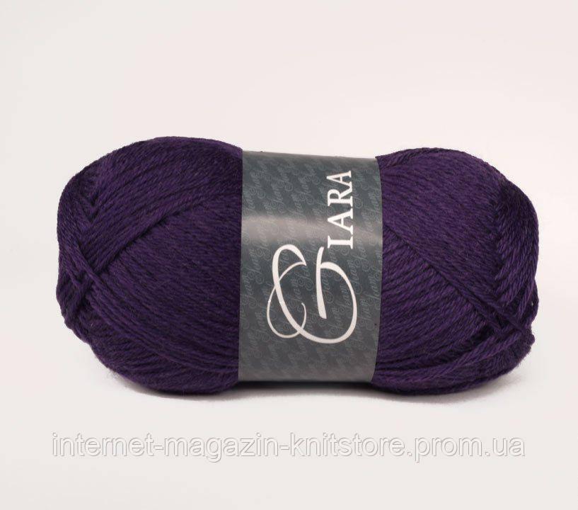 Пряжа Сеам Giara темно фиолетовый