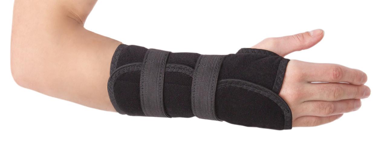Бандаж для лучезапястного сустава с ребром жесткости  Торос-груп тип 552