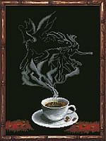 Набор для вышивания нитками Кофейная Фантазия - Козерог 1 КИТ 30313