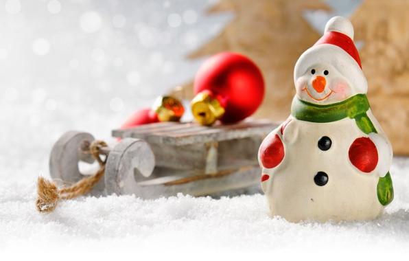 Подарунок на Новий рік: санки