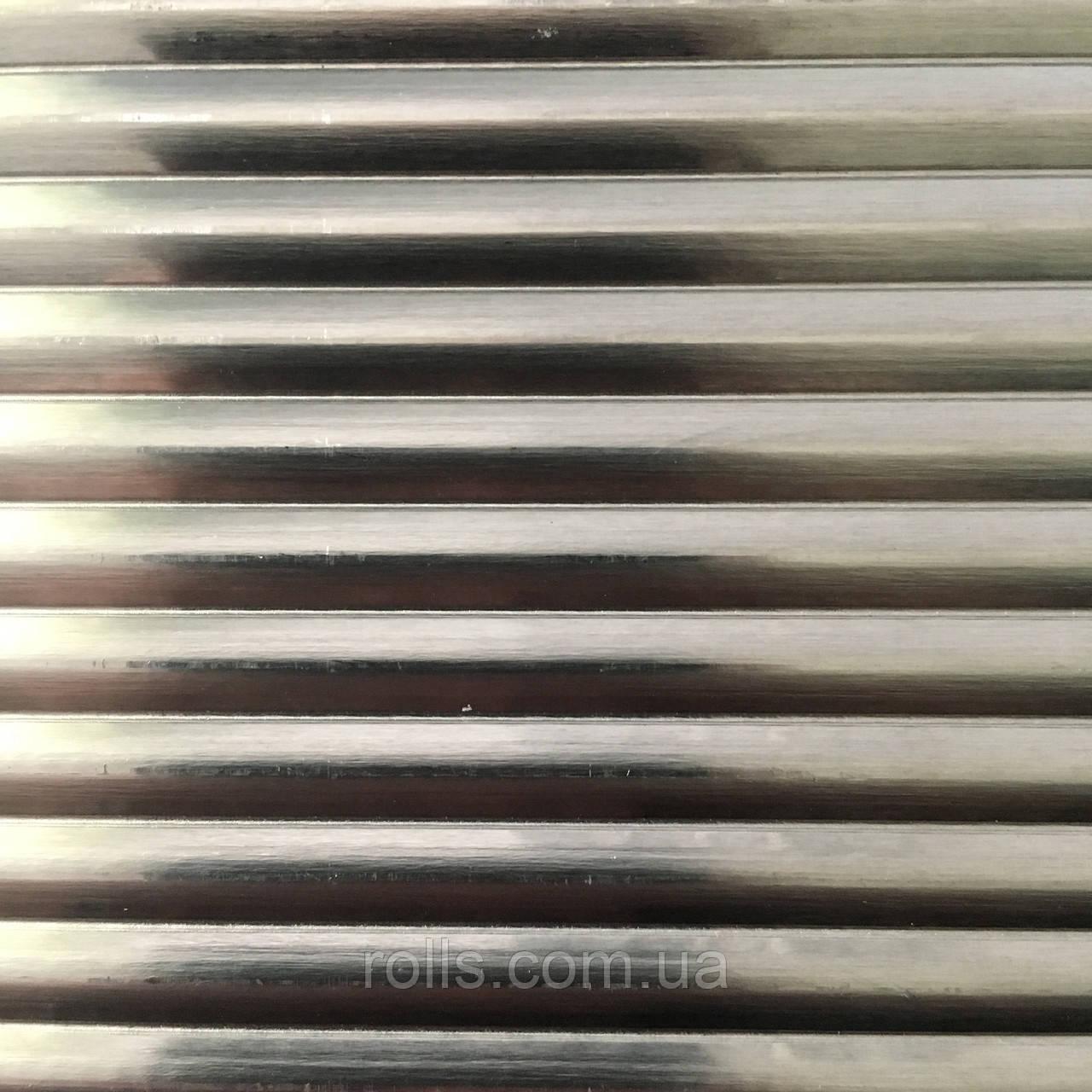 Лист рифленый алюминиевый 1,0х1000х3000мм PREFA DESIGN 916 Wave lengthwise 5mm