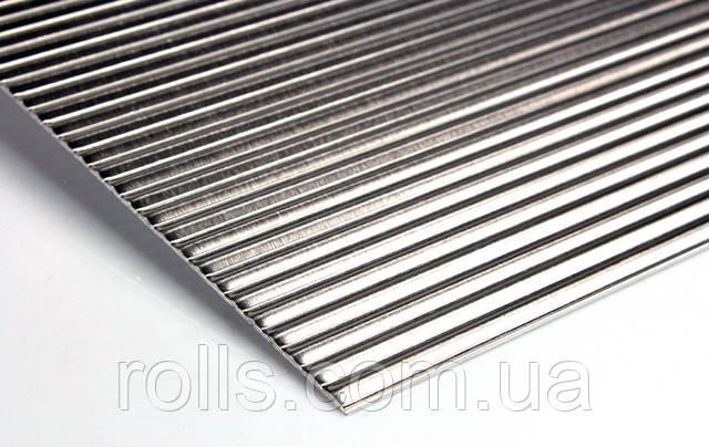 лист алюминиевый рифленый квинтет Prefa Design 916