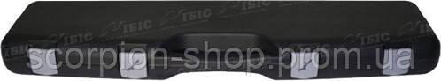 Кейс Mega line 125x25x11 пластиковый, черный,клипсы
