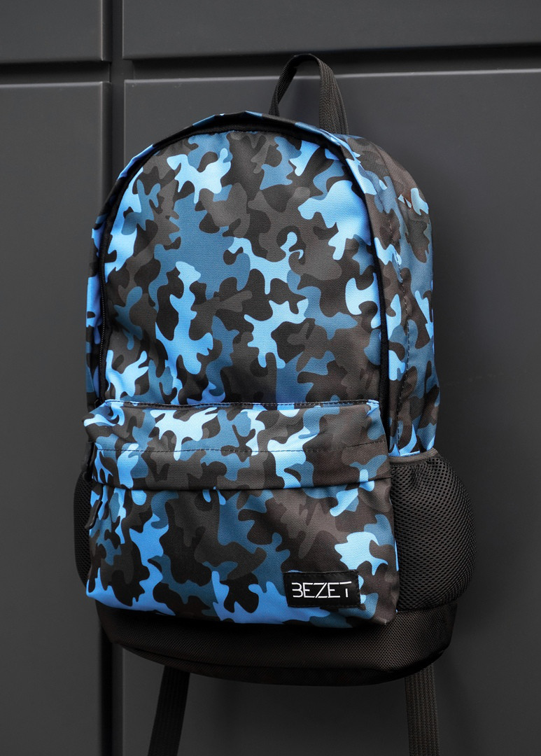 Рюкзак BEZET Blue camouflage 26L
