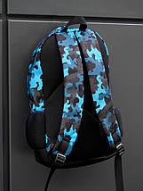 Рюкзак BEZET Blue camouflage 26L, фото 2