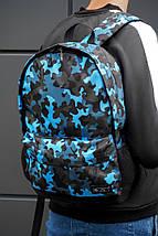 Рюкзак BEZET Blue camouflage 26L, фото 3
