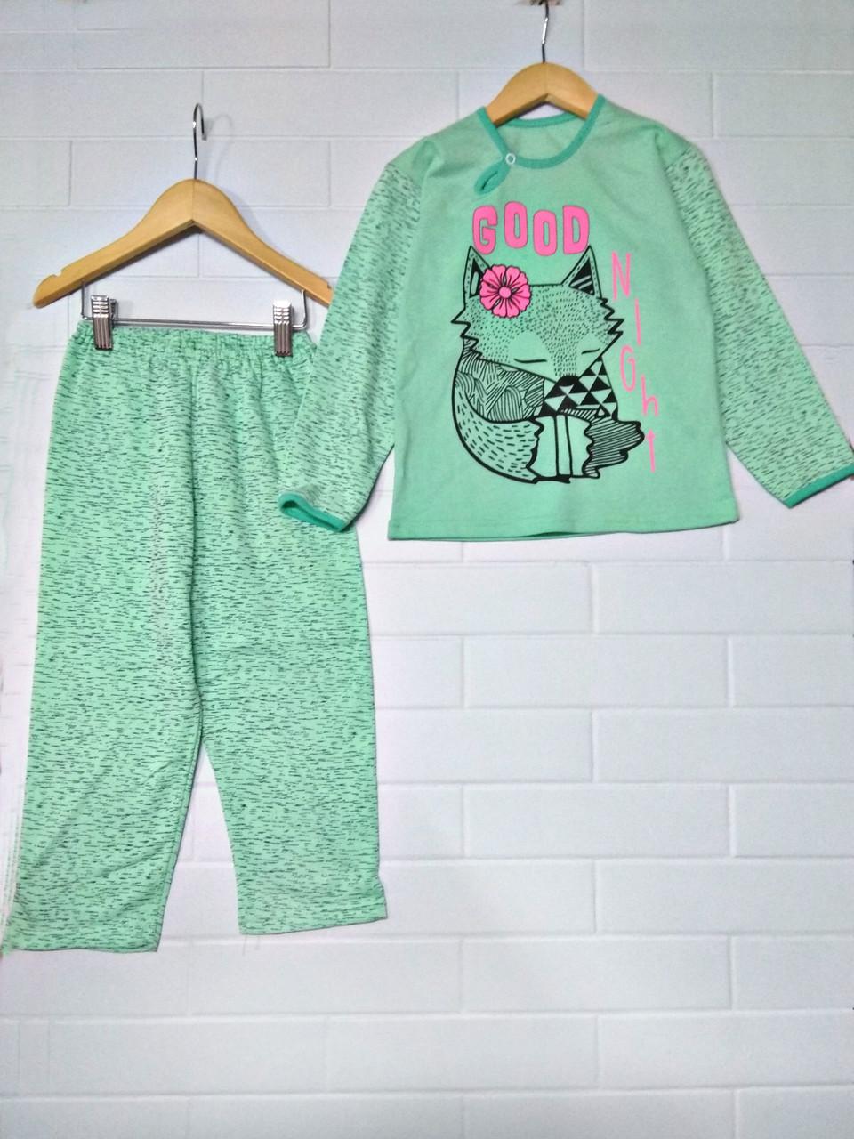 Детская начесная пижама
