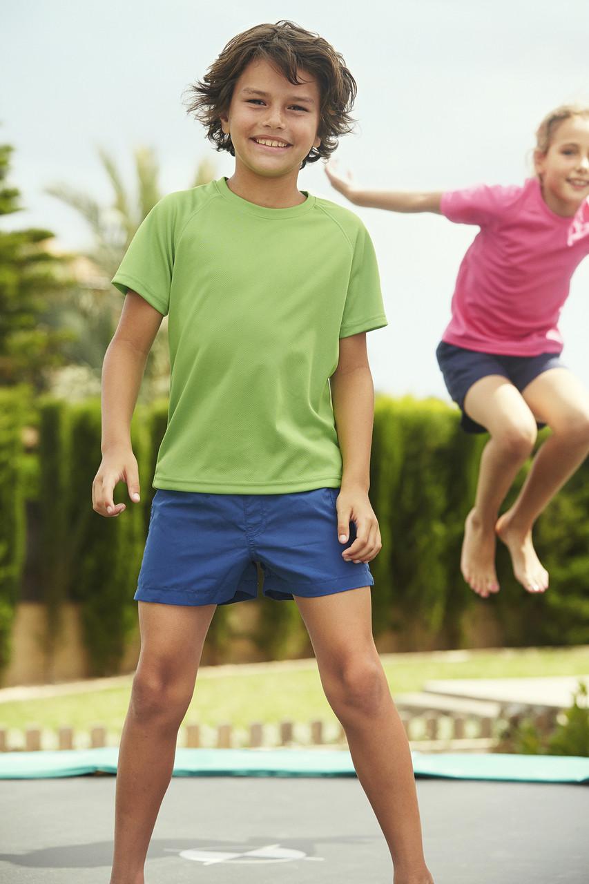 Детская Детская футболка спортивная Perfomance Kids 61-013-0