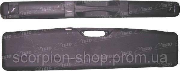 Кейс Mega line 110x25x11 пластиковый, черный,клипсы