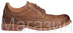 Мужские туфли Timberland Earthkeepers Leather Тимберленд коричневые