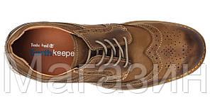 Мужские туфли Timberland Earthkeepers Leather Тимберленд коричневые, фото 2