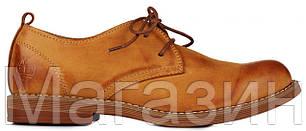 Мужские туфли Timberland Oxford Тимберленд рыжие, фото 2