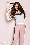 Женский розовый спортивный костюм, фото 2