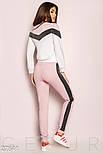 Женский розовый спортивный костюм, фото 3